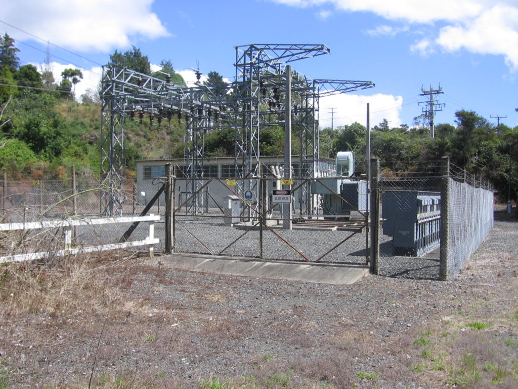 Installing new switch gear is stage one of improving supply reliability for 1200 customers in Whakamaru and Mangakino