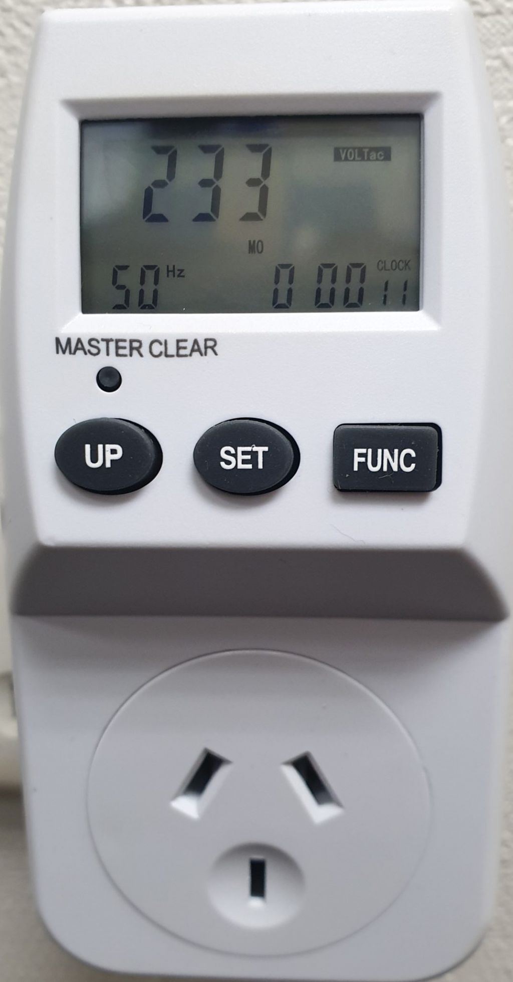 Plug-in energy monitor