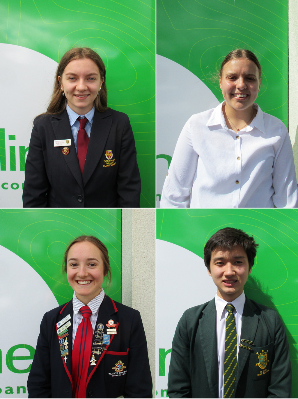 Four outstanding local school leavers have been awarded Inspiring Local Minds Scholarships from The Lines Company (TLC).